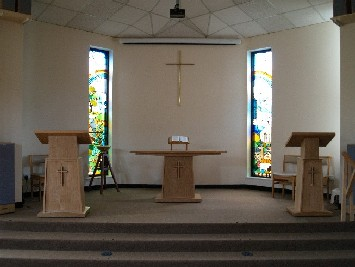 New sanctuary furniture