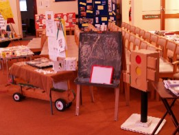 Part of Pre-School's display