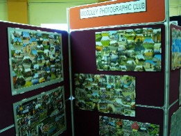 Part of Woodley Photographic Club's display