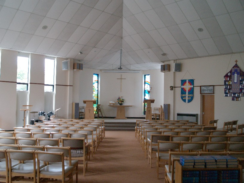 Inside Christ Church Woodley